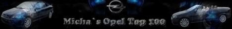 Micha`s Opel Top 100